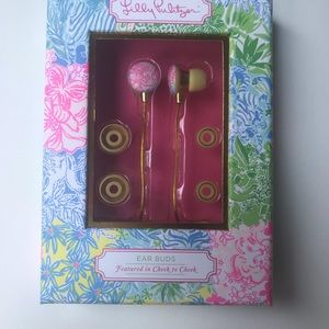 New Lilly Pulitzer Ear Buds